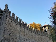Mittelalterliches Schloss Lizenzfreies Stockbild