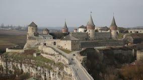 Mittelalterliches Schloss stock footage
