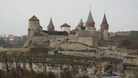 Mittelalterliches Schloss stock video footage