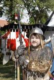 Mittelalterliches Schloss adelt Turnier Stockfotografie