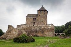 Mittelalterliches Schloss in Bedzin Stockbild