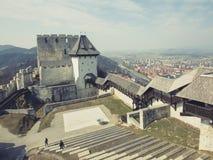 Mittelalterliches Schloss in Celje Lizenzfreie Stockfotografie