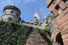Mittelalterliches Schloss Deutschland Stockfotos