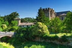 Mittelalterliches Schloss in Frankreich Lizenzfreie Stockbilder