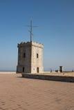 Mittelalterliches Schloss im Süden von Frankreich Lizenzfreies Stockfoto