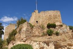Mittelalterliches Schloss, 10. Jahrhundert, Palafolls, Lizenzfreie Stockbilder