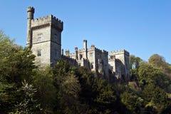 Mittelalterliches Schloss in Lismore Stockfotografie