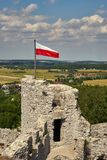 Mittelalterliches Schloss in Polen europa stockbilder