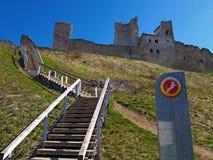 Mittelalterliches Schloss in Rakvere Lizenzfreies Stockbild