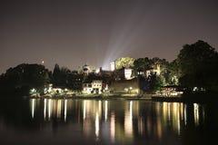 Mittelalterliches Schloss Turin Italien Lizenzfreies Stockbild