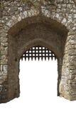 Mittelalterliches Schlosstor, England Lizenzfreie Stockfotos