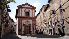Mittelalterliches Siena stock footage