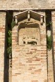 mittelalterliches Stein Scaliger-Schloss des 13. Jahrhunderts Castello Scaligero auf See Garda, Sirmione, Italien stockfoto