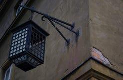 Mittelalterliches Straßenlaterne Lizenzfreie Stockbilder