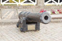 Mittelalterliches strary Gewehr Stockfotos