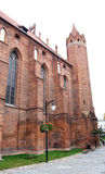 Mittelalterliches Teutonic Schloss in Polen Lizenzfreie Stockfotos