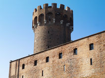 Mittelalterliches Teutonic Schloss in Polen Lizenzfreies Stockfoto