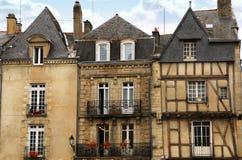 Mittelalterliches Vannes, Frankreich stockfoto