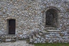 Mittelalterliches verstärktes Gebäude in Travnik 11 Stockbild
