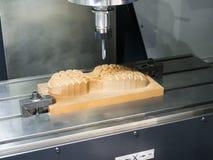 Mittelausschnittform 3 Achse CNC-maschineller Bearbeitung Lizenzfreies Stockbild