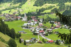 Mittelberg Royalty Free Stock Photo