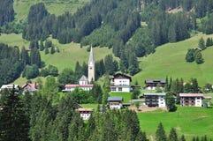 Mittelberg, Kleinwalsertal, Vorarlberg, Österreich stockfotos