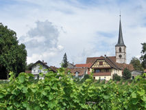Mittelbergheim in Alsace Stock Photo