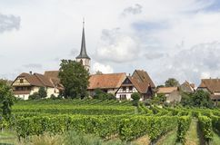 Mittelbergheim in France Stock Image