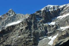 Mitteler Gabelhorn Stock Images