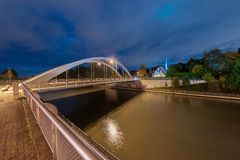 Mittellandkanaal Stock Afbeelding