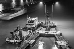 Mittellandkanaal Royalty-vrije Stock Afbeelding