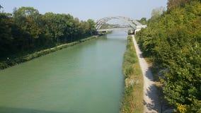 Mittellandkanal Photo libre de droits