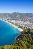 Mittelmeer - Alanya, die Türkei Lizenzfreies Stockbild