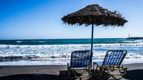 Mittelmeer entspannen Sie sich lizenzfreies stockbild