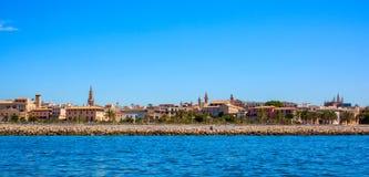 Mittelmeer in Palma de Mallorca Lizenzfreie Stockfotografie