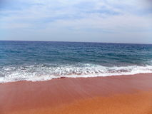 Mittelmeer in Spanien stockbild