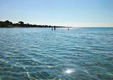 Mittelmeer um Sardinien Stockbilder