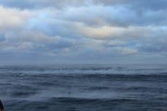 Mittelmeer und Gibraltal lizenzfreies stockbild