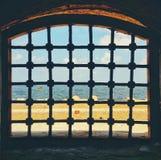 Mittelmeer von der Zitadelle von Qaitbay Lizenzfreies Stockfoto