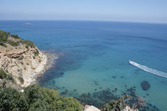 Mittelmeer Zypern Akamas Lizenzfreie Stockfotos