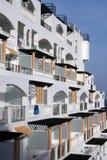 Mittelmeerarchitektur Stockbild