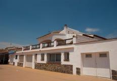 Mittelmeerarchitektur Rosen Spanien Stockbilder