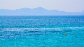 Mittelmeerblau Lizenzfreies Stockfoto