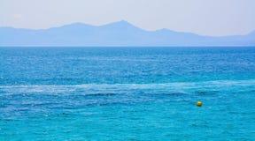 Mittelmeerblau Stockfotos