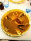 Mittelmeerfisch-Suppe Stockfotos