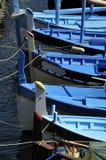 Mittelmeerfischerboote Stockbilder