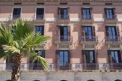 Mittelmeergebäude Stockfotos