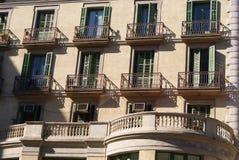 Mittelmeergebäude Lizenzfreie Stockbilder