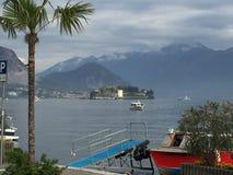 Mittelmeerhafen in Italien Stockfotos