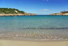 Mittelmeerküste Stockfotos